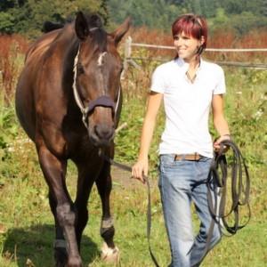 Kristína výuka jezdectví