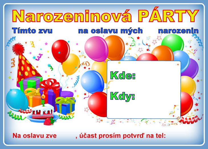 dětské pozvánky k narozeninám Pozvánky na párty | Dětské centrum LIŠTIČKA dětské pozvánky k narozeninám